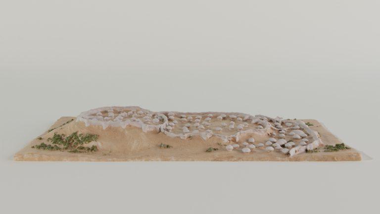 Maqueta del poblado de Los Millares