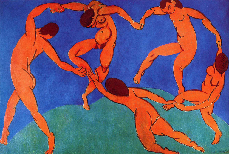 ORIGINAL: 1909. LA DANZA. MATISSE. fauvismo