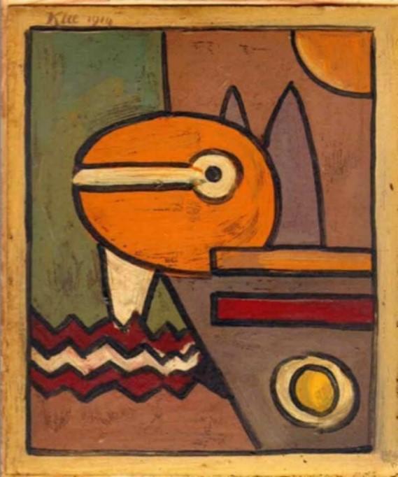 ORIGINAL: 1914. NA. KLEE. abstracto